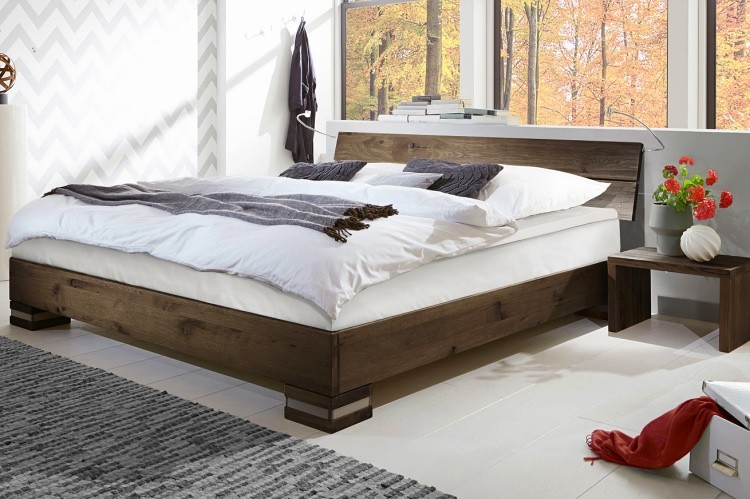 Mexiana Boxspringbett in coffee Eiche