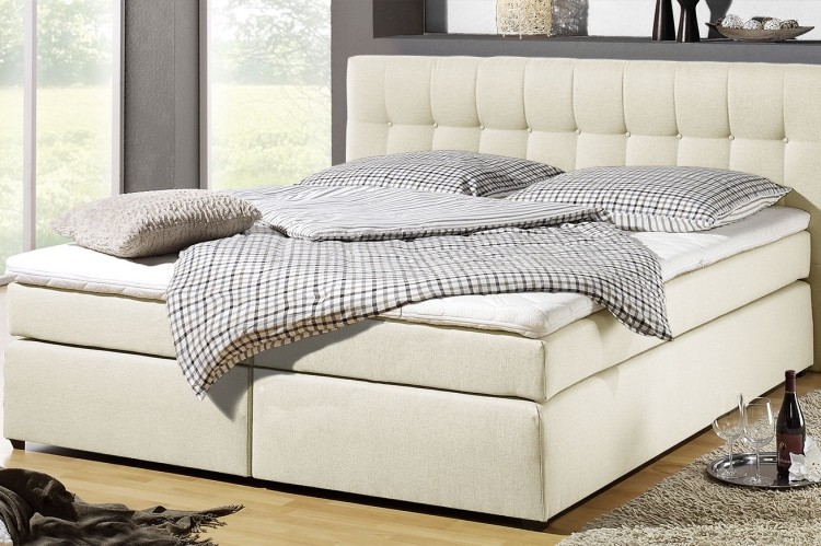 Billiges Boxspringbett Matai