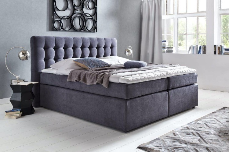 "Boxspringbett Chesterfield ""Perris"""